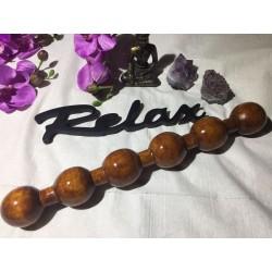 Instrument / Stick / Roller Lemn (30-40 x 4 cm) THAI MASSAGE - MaderoTerapie -  Masaj anticelulitic, Relaxare, Terapie + CADOU
