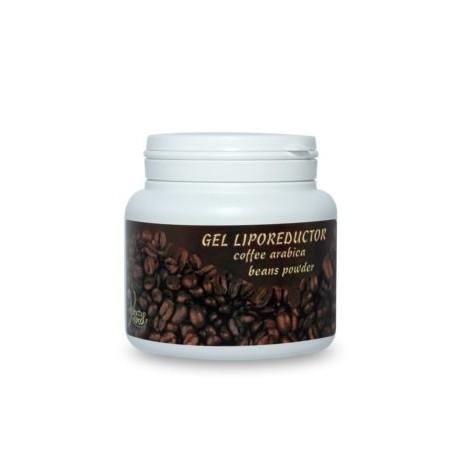 Gel cu CAFEA BIO Anticelulitic pentru Suplete si Fermitate - 500 ml + Cristal CADOU