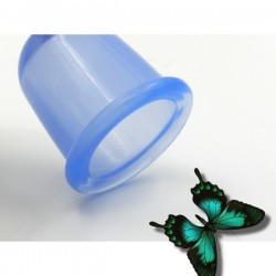 VENTUZA silicon pentru Masaj Anticelulitic si Terapeutic (marime ventuza: medie 5.5 cm) + Cristal CADOU