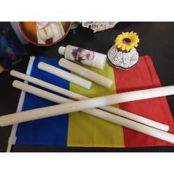 Set / Kit 5 BETE ALUN (3 x 50 cm + 2 x 20 cm) pentru PURIFICARE si orice tip de MASAJ + CADOU ulei COCOS 250 ml