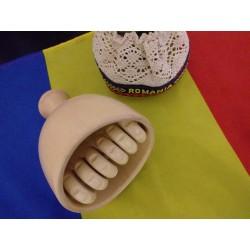 Copa SUECA (cupa suedeza) cu Roller ESTRIADO NATUR pentru Masaj / Slabire / MADEROTERAPIE / Lifting + Cadou