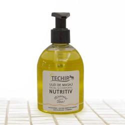 Ulei NUTRITIV Techir pentru Masaj Facial si Corporal (250 ml / 1000 ml) + pompita + CADOU