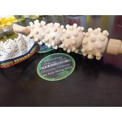 Roller Madero CHAMPINONES XL pentru Masaj / Maderoterapie + Cadou