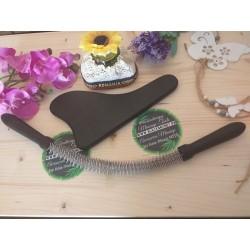 SET Roller Su-Jok CURBAT si Paleta Black Carbon pentru Masaj si Terapie + Cadou