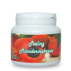 Peeling / Exfoliant Microdermabraziv (100% Natural) cu Samburi de Caise pentru corp - 500 ml + Cristal CADOU