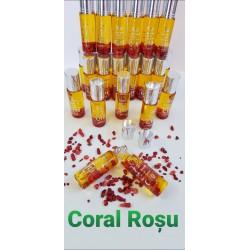 Ser ELIXIR Magia Cristalelor (Crystal Beauty Elixir) cu Q10 și Cristale CORAL ROȘU (8ml) + CADOU