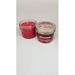 Lumanare pentru MASAJ 100% Naturală cu Ulei de Migdale si Unt de Shea (Romantic) 100g + CADOU
