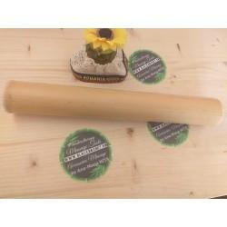 Băț Bambus XL (33 cm x 6 cm) pentru Masajul terapeutic si drenaj + CADOU
