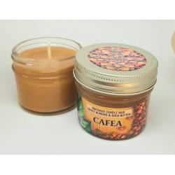 Lumanare pentru MASAJ 100% Naturală cu Ulei de Migdale si Unt de Shea (Cafea) 100g + CADOU
