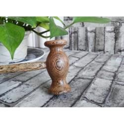 Ciocanel pentru masaj din lemn de wenge, decontracturant, relaxant, tonifiant + Cadou