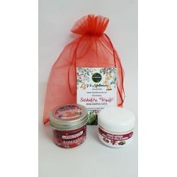 Crema Antirid cu Catina + Lumanare pentru Masaj 100 gr Romantic + Saculet + CADOU
