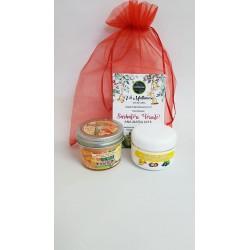 Crema Galbenele + Lumanare pentru Masaj 100 gr Citrice + Saculet + CADOU