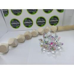 UNIC in Romania !!! Roller Formator CURBAT cu 9 Cuburi CUBOS + Floare Lotus din Cristal