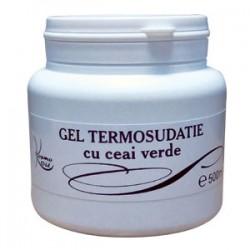 Gel Anticelulitic Termosudatie cu Ceai Verde pentru slabire rapida si detoxifiere - 500 ml + Cristal CADOU