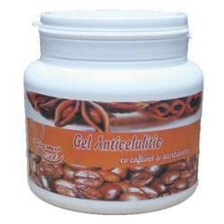 Gelul Anticelulitic cu Cafeina (100% Cafeina Pura) si Scortisoara - 500 ml + Cristal