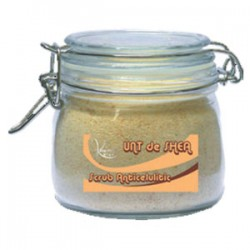 Scrub Anticelulitic Natural cu Unt de Shea, Samburi de Caise, Ardei Iute si Samburi Masline - 500 ml + CADOU