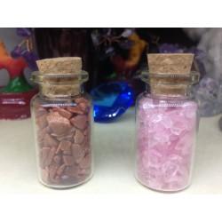Sticluta cu Cristale (5 cm) pentru Terapie, Armonie, Protectie si Decor + Cristal Cadou