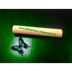 Bat bambus 20 cm pentru masajul reflexogen, cervical si al membrelor (diametru 2.3 - 4.3 cm)