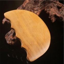 Paleta Modelatoare 3 in 1 Lemn de Santal (10 cm) MaderoTerapie / Masajul Anticelulitic / Slimming / Drenaj / Scapping+ Cristal