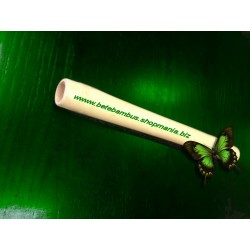 Bat bambus 40 cm pentru masajul somatic si anticelulitic (diametru 2 cm - 3 cm) + Cristal