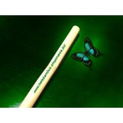 Bat bambus 60 cm pentru masajul anticelulitic / somatic (diametru 2 cm - 3 cm) + Cristal