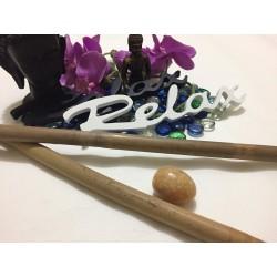 Set 2 Bete Bambus 50 cm (1.6-1.8 cm) pentru Masajul Anticelulitic Rapid, Fermitate, Push-up + Cadou OU JAD